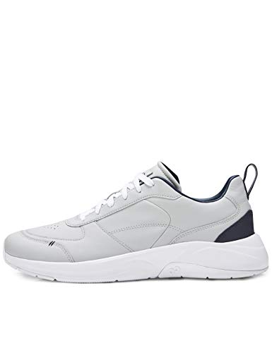 CARE OF by PUMA Sneaker basse casual da uomo in pelle, Grigio Grey), 47 EU