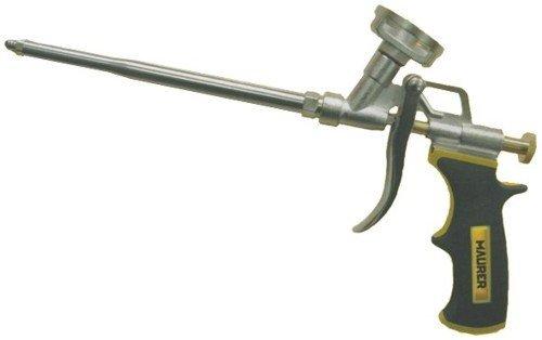 Pistola per Schiuma Poliuretanica Maurer con ugello in acciaio inox ed impugnatura ergonomica
