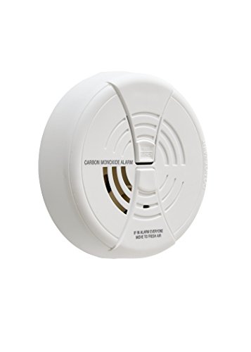 FIRST ALERT Carbon Monoxide Alarm | BRK CO250 Battery Operated Carbon Monoxide Detector With 9-Volt Battery & Two Silence Features