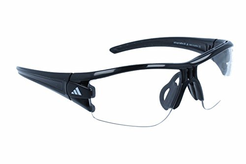 adidas Eyewear Evil Eye Halfrim L/, Color Black Shiny
