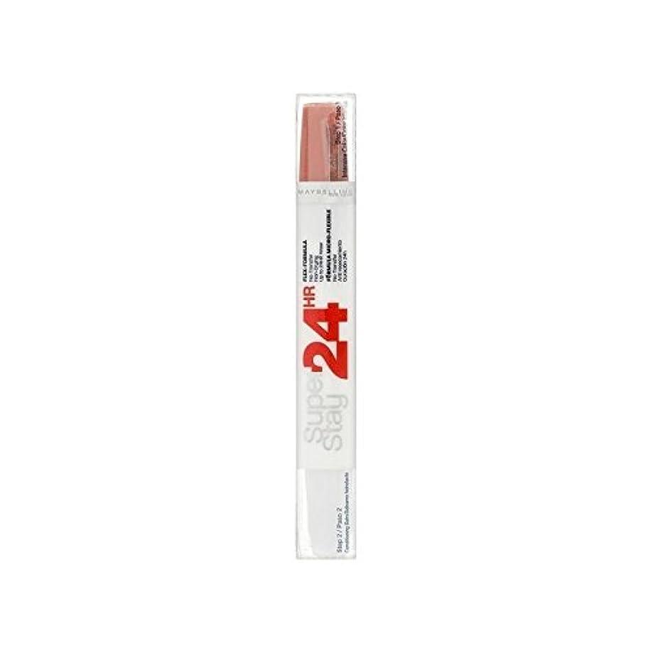 遠いどれか顕著Maybelline SuperStay24H Dual Lipstick 460 Infinite Coral 9ml - メイベリン24デュアル口紅460無限サンゴ9ミリリットル [並行輸入品]