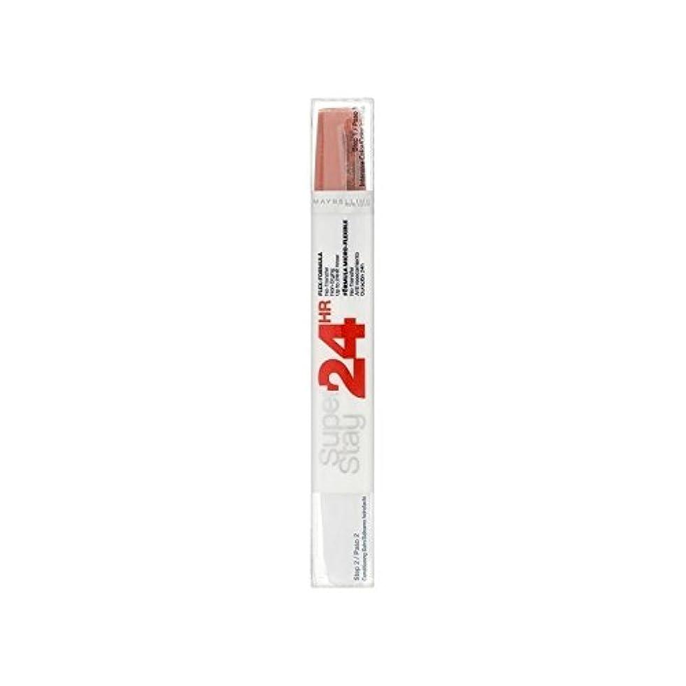 特異なルーフアルバムMaybelline SuperStay24H Dual Lipstick 460 Infinite Coral 9ml (Pack of 6) - メイベリン24デュアル口紅460無限サンゴ9ミリリットル x6 [並行輸入品]