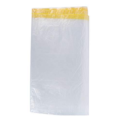 Hozee Cubierta Protectora de plástico desechable, paño Antipolvo, Uso Exterior Transparente para Muebles, Uso en Patio de automóviles
