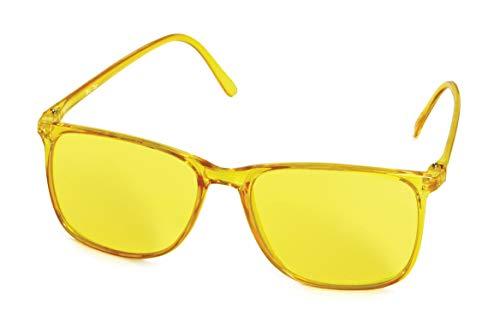 Farbtherapiebrille gelb