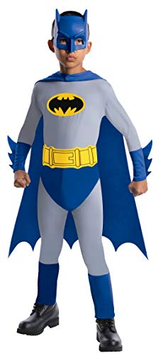 Batman The Brave and The Bold Batman Costume with Mask and Cape, Medium