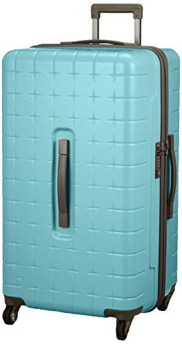 [プロテカ] スーツケース 360T キャスターストッパー付 360°開閉 サイレントキャスター搭載 約7~10日向け 4.8kg 97L 日本製 02925 保証付 76 cm ピーコックブルー
