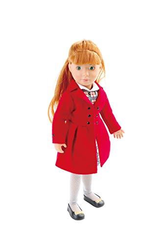 Käthe Kruse K0126876 K0126876-Chloe Kruselings die englische Rose, Puppe 23cm