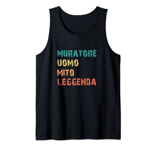 Hombre Masonry Man Myth Legend Funny Retro Mason Camiseta sin Mangas