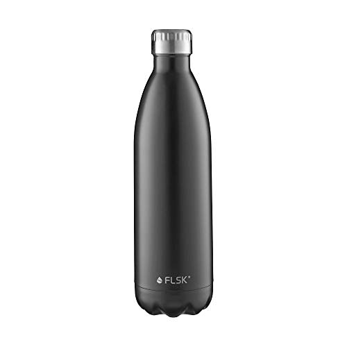 FLSK Edelstahl Trinkflasche – sportlich und Kohlensäure geeignet