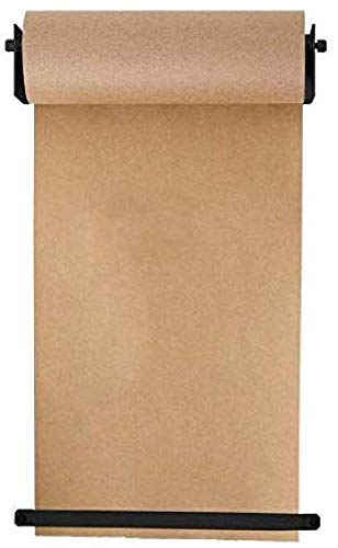 YXIAOL Dispensador Papel Kraft Montado Rollo Papel Kraft Reutilizable Montado Pared Papel Kraft para El Hogar Alternativa Innovadora A Pizarras Blancas Rotafolios O Tableros Informativos,69cm