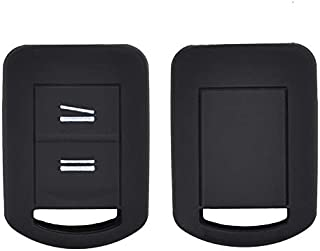 XUKEY 2 Tasten Silikon Schlüsselhülle Fernbedienung Gehäuse für Opel Agila Corsa C Combo Meriva Tigra 1999–2010 Keyless Fob Shell