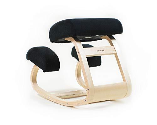 SLEEKFORM Austin Kneeling Chair | Home Office Ergonomic Computer Desk Chair Stool For Back Support