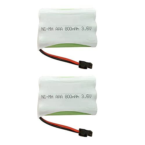 ユニデン Uniden BT-739 同等品 エルパ TSA-224 コードレス子機用 互換充電池 ニッケル水素電池 3.6V 800mAh コードレス電話 FAX用交換充電池 ハンドスキャナー用交換充電池 コードレスホン子機用充電池 2個セット 2年間メーカー保証