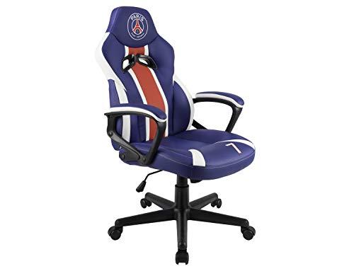 Psg - Paris Saint Germain - Sedia Gaming Junior - Sedia Da Gioco - Sede Da Ufficio - Licenza Ufficiale - - Playstation 4
