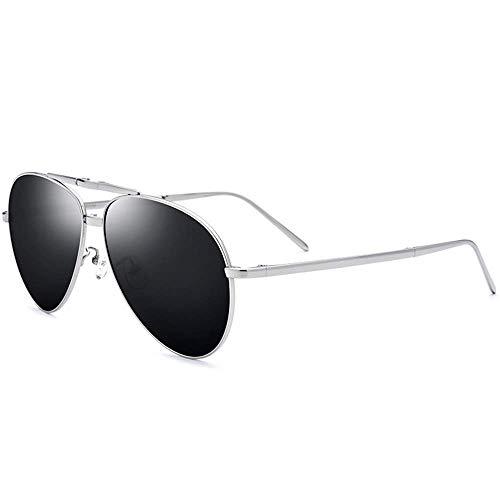 KCGNBQING Gafas de Sol UV400 Pure Titanium Sunglasses Ultra Light Driver Driver...