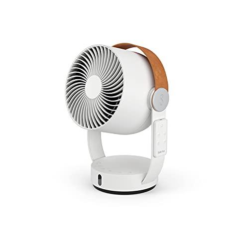Stadler Form Leo, ventilatore 3D con funzione di rotazione orizzontale e verticale, grande portata fino a 8 m, bianco con telecomando