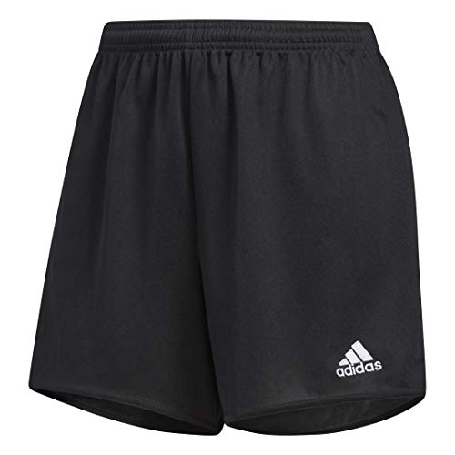 adidas Women's Parma 16 Shorts, Black/White, Large