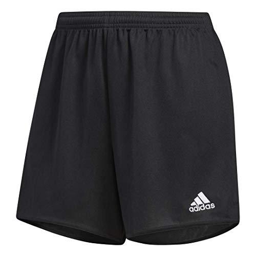 adidas Women's Parma 16 Shorts, Black/White, Small