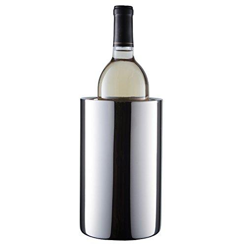 AoYan Cubo de Enfriador de Vino - Contenedor de Enfriador de Botella de Doble Pared de Acero Inoxidable, Cubo de Hielo de champán Cubo de Hielo Grueso, Cubo de Hielo Aislado Ideal para Contener Hielo