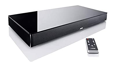 Canton DM 76 Soundbar - Virtual Surround System 2.1 200 Watts - Black Glass from Canton