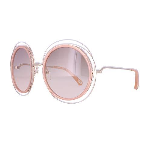 Chloe Damen Ce120sd Sonnenbrille, Gold/Transparent Peach, Standard