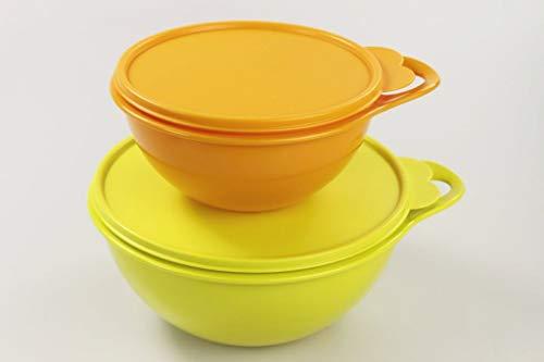 Tupperware Maximilian 33755 - Ciotola da 1,4 l + 2,75 l, Colore: Verde Lime