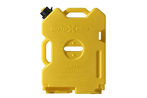 Rotopax(ロトパックス) ポリタンク コンテナ 2ガロン(7.57L) イエロー PRX-2D