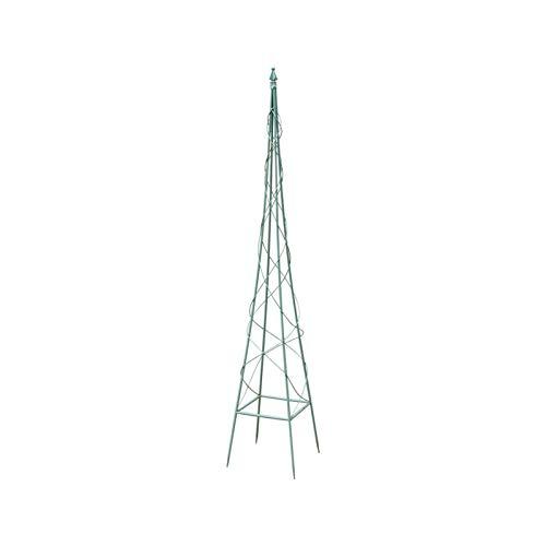 BFSHY Obelisco, Marco De Escalada para Plantas, Enrejado De Jardín, Marco De Soporte para Plantas De Hierro Forjado, Torre Ligera para Plantas, para Enredaderas De Escalada,S