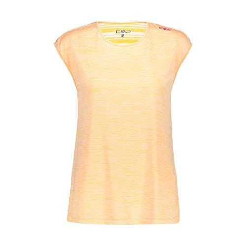 C.P.M. T- Shirt Transparent Melange Con Trattamento Antibatterico Femme, Solarium, D36