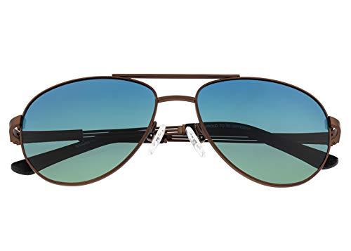 Breed Leo Titanium BSG051 - Gafas de sol polarizadas para hombre