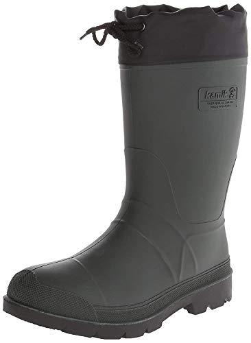 Kamik Men's Hunter Winter Boots, Khaki (Original) Size 9