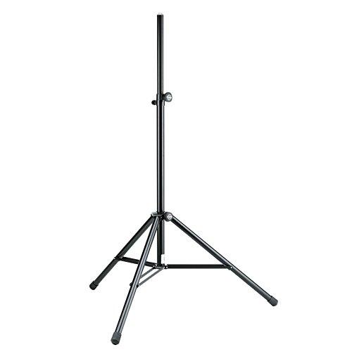 214/6 pied haut-parleur, charge max.50kg, Alu noir