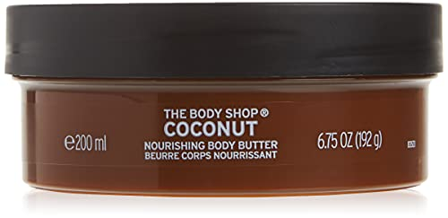 The Body Shop Body Butter, Coconut, 6.75 Ounce (Packaging May Vary)