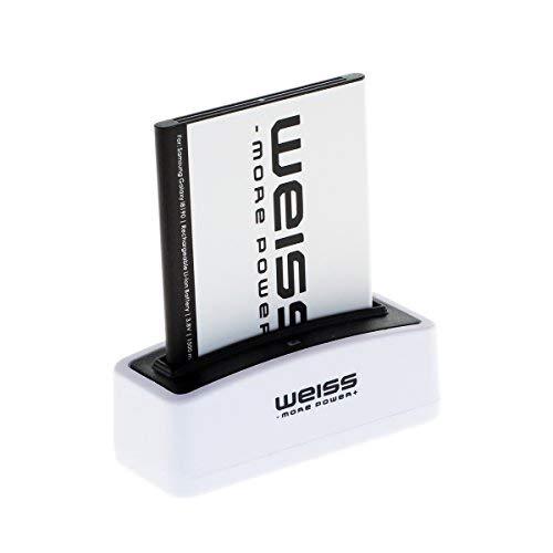 Weiss More Power - Batería para Samsung Galaxy S3 Mini GT-I8190 / Ace 2 (GT-I8160 / GT-I8160P) / S Duos (GT-S7562 / GT-S7560) (1500 mAh, Equivalente a EB425161LU / EBF1M7FLU / EB-B130BE)