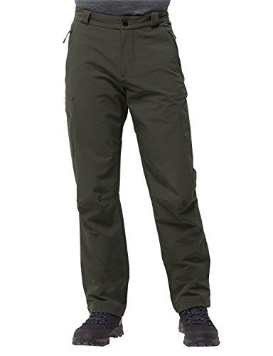 Jack Wolfskin Herren Activate Thermic Pants Men Softshellhose Wind-und Wasserabweisend Sehr Atmungsaktiv Elastisch Softshell-Hose, grün (malachite), 46