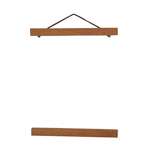 LANTRO JS – Magnetische Fotolijst, Moderne Magnetische Houten Fotolijst DIY Custom Poster Scroll Prints Kunstwerk Hanger…