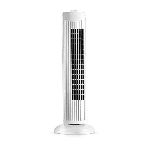 HYISHION Home Leafless Fan White Swing Tower Fan, 3-speed Mode Household energy-saving cooling fan SKYJIE