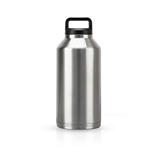 Tiny 550/1100/2000 ml Taza de Coche de Acero Inoxidable de Gran Capacidad Botella Termo de Doble Pared Termo portátil Taza aislada para Viajes
