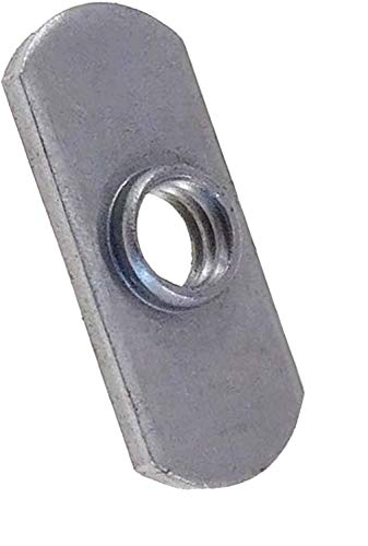 20 Pack 3/8-16 Spot Weld Nuts - Double Tab - Center Hole Design Spot Weld Nut - Low-Carbon Steel (20)