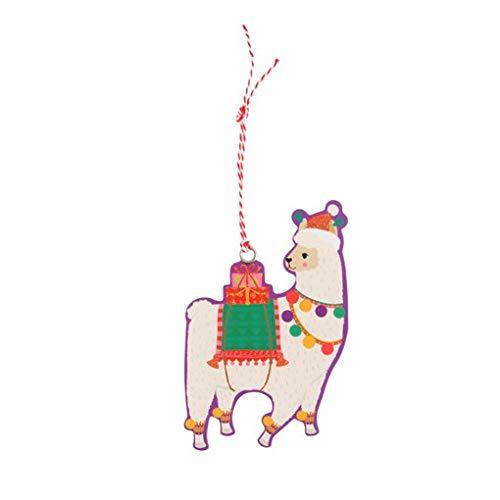 Sass & Belle FA La La Llama Gift Tags - Set of 6