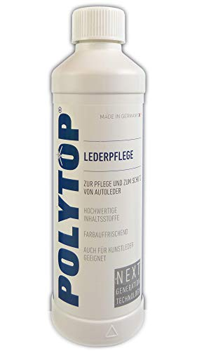Polytop Lederpflege 500ml Farbauffrischung Intensivpflege