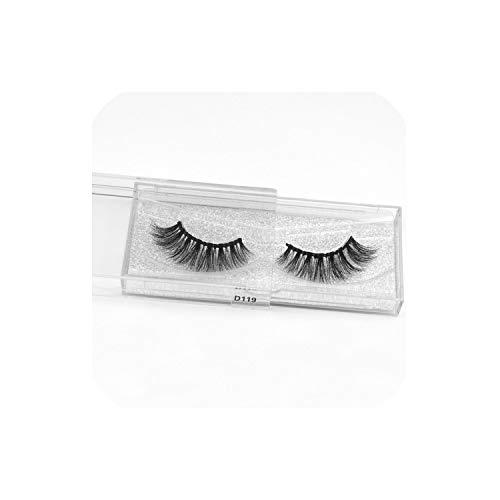 12Pair Eyelashes 3D Mink Eyelashes Long Lasting Mink Lashes Natural Dramatic Volume Eyelashes Extension False Eyelashes,D119