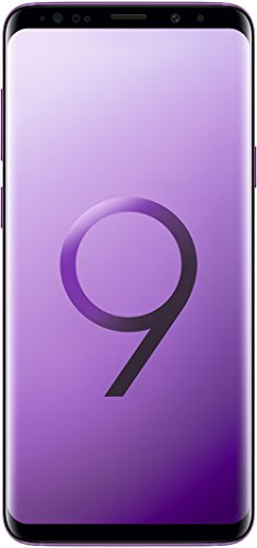 Samsung Galaxy S9+ Smartphone (6,2 Zoll Touch-Bildschirm, 64GB interner Speicher, Android, Single SIM) Lilac Purple – Deutsche Version