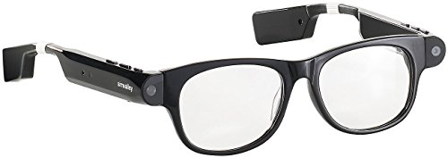 simvalley MOBILE Brille mit Bluetooth: Smart Glasses SG-101.bt mit Bluetooth und 720p HD (Brillenkamera)