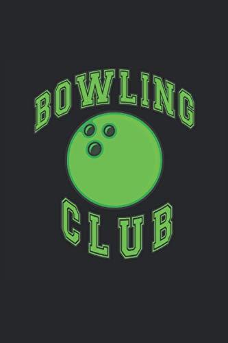 Bowling Notizbuch: Bowling Geschenk Notizbuch Tagebuch Planer Notizblock 120 karierte Seiten 6x9 Zoll (ca. DIN A5) Geschenkidee