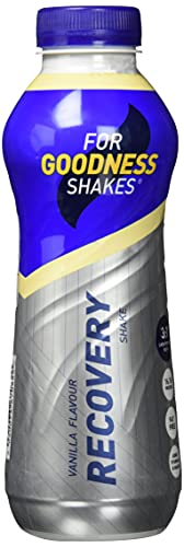 For Goodness Shakes Recovery Protein Drink, 475 ml, Vanilla Fudge, Pack of 10