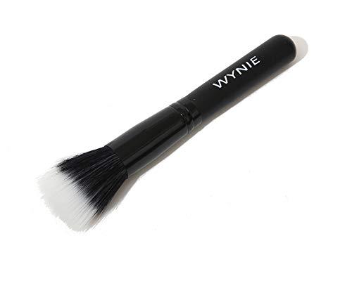 WYNIE Brocha de Maquillaje Mofeta para Polvos Translúcidos Bronceadores Colorete de Pelo Sintetico y Cruelty Free