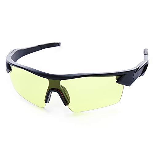 XCHJY Gafas Ciclismo Mujeres de los Hombres del Deporte al Aire Anti-Polvo de Vidrio Gafas de Sol de la Motocicleta de la Bicicleta de Bicicletas de montaña UV400 (Color : P 2)