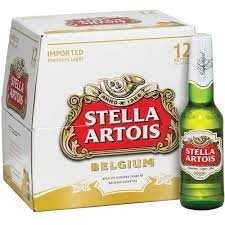 Stella Artois Birra Bottiglia cl 66 cartone 12pz