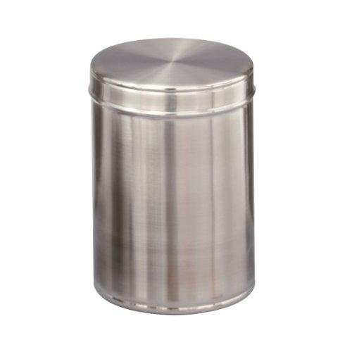 Zeller 27332 Vorratsdose Edelstahl, 600 ml, ø 9 x 12,5 cm
